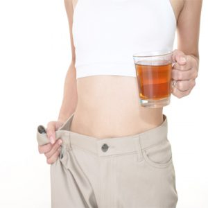 Weight management with tea