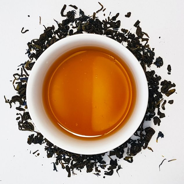 Earl Grey Green Loose Leaf Tea