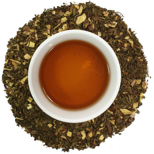 Pure Peppermint and liquorice root Loose Leaf Herbal Tea