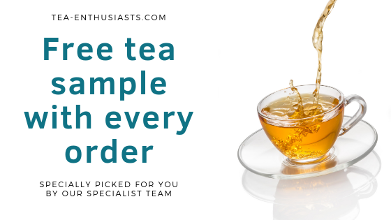 Free loose leaf tea sample with every website order